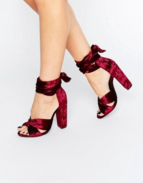 miguided-tie-block-heel